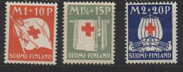 P594.-. FINLAND / FINLANDIA. 1930. SC # : B2 - B4 - MNH- RED CROSS  .-. CV: US $ 11.00 - Oficiales