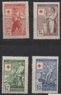 P600.-. FINLAND / FINLANDIA. 1946. SC # : B74 - B77 - MNH- RED CROSS - .-. CV: US $ - Oficiales