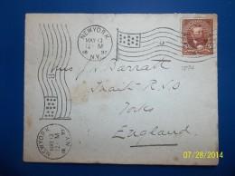 USA: 1897 Cover To England (#BA3) - 1847-99 Emissions Générales