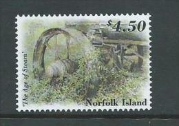 Norfolk Island 2002 Age Of Steam Power $4.50 Single MNH - Norfolk Island