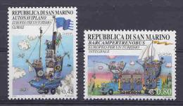 Europa Cept 2004 San Marino 2v ** Mnh (21706) @ Face - 2004