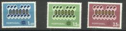 Portugal - 1962 Europa Set Of 3 MLH  *  Sc 895-7 - 1910-... Republic