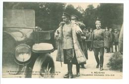 08-MEZIERES - Occupation Allemande 1914-1918 - Le Kronprinz Prêt à Monter En Voiture à L'issue De La Revue En Juin 1918 - War 1914-18