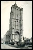 Cpa De Belgique  Ypres Leper église Saint Pierre     FEV16 11 - Ieper