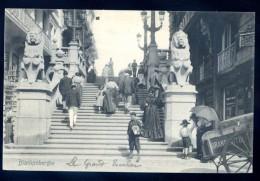 Cpa De Belgique Blankenberghe Le Grand Escalier    FEV16 11 - Blankenberge