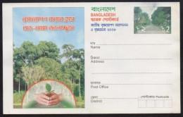 BANGLADESH 2008 Stationery Pictorial 2 Taka POSTCARD On Tree Plantation, Unused, As Per Scan - Bangladesh