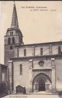 09----les Pyrénées Ariégeoises---SAINT-GIRONS----église--voir 2 Scans - Saint Girons