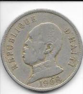 HAITI - 50 CENTIMES - 1908 - - Haïti
