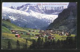 CPA Melchtal, Vue Générale Avec Rothorn Et Glockhaus - OW Obwalden