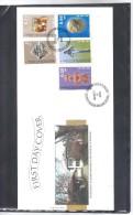 BOX595 UNO KOSOVO UNMIK  FDC  FIRST  DAY COVER   2000 MICHL  1/5 FDC Siehe ABBILDUNG - Briefe U. Dokumente