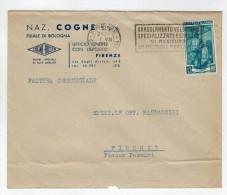 Repubblica Storia Postale Lavoro 12 Lire Isolato - 1946-.. République