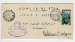 Repubblica Storia Postale Lavoro 10 Lire Isolato - 6. 1946-.. Repubblica