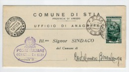 Repubblica Storia Postale Lavoro 10 Lire Isolato - 1946-.. République