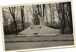 Carte Photo Monument ANDRE MAGINOT  Recto Verso