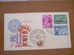 FDC C.E.E.A. 8/11/1961 Bruxelles - Belgien