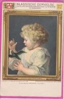 16 / 2 / 122  -  KLASSICHE  GEMAELDE  -  Bildnis Eines  Kinder  Rubens - Museum