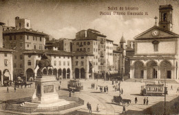 BIVORNO- PIAZZA VITTORIO EMANUELE II   CARTE ANIMEE - Italie