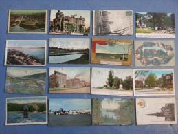 CP Carte Postale Post Cards LOT 16 Postkarte Postcard Canada (H89) - Cartoline