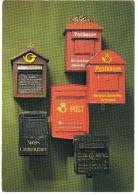 BRIEVENBUSSEN / MAIL-BOXES - Norge , Fra Postmuseets Samlinger. Gamle Postkasser - Post