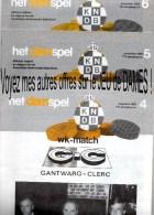 """JEU De DAMES 3 Revues """"HET DAMSPEL"""" N°4, 5 Et 6 De 1985. - Pratique"""