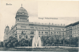 BERLIN - Polizei-Präsidium - Deutschland