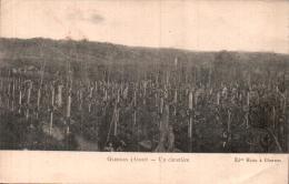 RARE  02 GLENNES UN CIMETIERE CIRCULEE 1917 - War Cemeteries