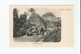 TRIPOLI (AFRIQUE) HABITATION NEGRESSE - Libye