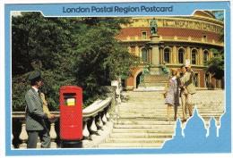 New K-TYPE PILLAR BOX In Prince Consort Road (near Royal Albert Hall) - SPECIAL POSTMARK 1982 - Post
