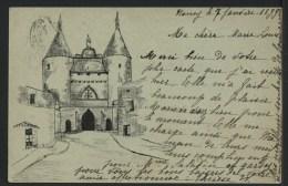 54 NANCY - Château à Identifier - Janvier 1899  - PRECURSEUR - Nancy