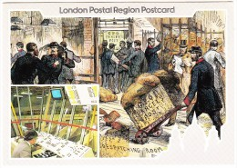 An 'Illustrated London News' Etching Shows An 1883 Parcels Office - SPECIAL POSTMARK 'Parcel Centenary 1983' - Post