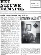 """JEU De DAMES Revue """"HET NIEUWE DAMSPEL"""" N°3 De Juillet/septembre 1984 - Pratique"""