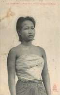 CAMBODGE - Phnom Penh , Femme Cambodgienne (buste). - Cambodge
