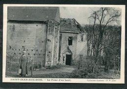 CPA - SAINT JEAN AUX BOIS - Le Four D´en Haut, Animé - France