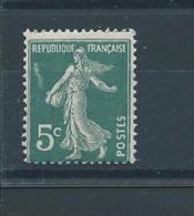 FRANCE  N° 137 * * T.B. Chenille - Errors & Oddities