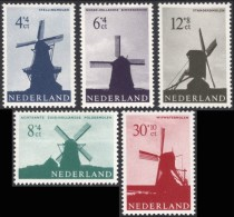 Netherlands, 5 Stamps 1963, Sc # B373-B377, Mi # 794-798, MH. - Period 1949-1980 (Juliana)