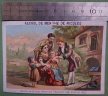 Ricqlès - Inventeurs Célèbres - JENNER, Découvre La Vaccine En 1796 - Cromo