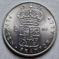 SWEDEN 1971U - 2 KRONE - Sweden