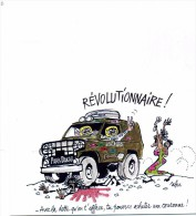 "ILLUSTRATEUR /  CABU     / ""      ILL 351  "" REVOLUTIONNAIRE      CPSM   10 X 15     NEUVE TBE - Cabu"