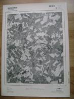 GRAND PHOTO VUE AERIENNE 66 Cm X 48 Cm De 1979  SOIGNIES NEUFVILLES - Cartes Topographiques