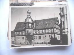 Duitsland Deutschland Nordrhein Westfalen Rathaus Höxter - Hoexter