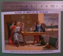 Ricqlès - Inventeurs Célèbres - TORICELLI Inventeur Du Baromètre-thermomètre - Cromo