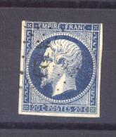 04195  -   France  :   Yv  14Aa  (o)  PC  3729  Milianah  Algérie - 1849-1876: Période Classique