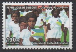 Djibouti Dschibuti 1996 Mi. 628 ** Neuf MNH Journée De L'enfant Child Kind Djiboutien Drapeau Flag Flagge RARE ! - Dschibuti (1977-...)