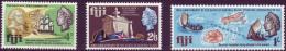 ( 1138 ) Fiji - Transport - Ships - Sail - Sailing Boat .150 Th Anniversary Of The Death Of Admiral BLIGH. - Ships