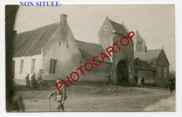 NON SITUEE-CARTE PHOTO Allemande-Guerre-14-18-1 WK-FRANCE-02-08-80-60-XX - France