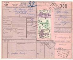 058 België Spoorwegen  Document Stempel  BISSEGEM - Chemins De Fer