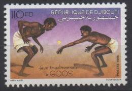 Djibouti Dschibuti 1998 Mi. 671 ** Neuf MNH Le Goos Jeux Traditionnels Game Spiel RARE ! - Dschibuti (1977-...)