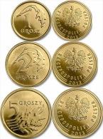Poland 3 Coins Set 2013 UNC - Polonia
