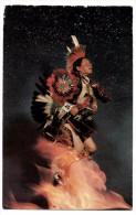 A-962, Postcard, Adam Trujillo Famous Taos Indian Dancer - Native Americans