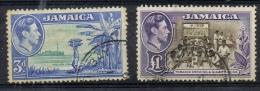K 874 JAMAICA  GESTEMPELD  YVERT NR 147/148  ZIE SCAN - Stamps